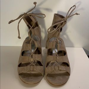 Dolce Vita taupe sandals